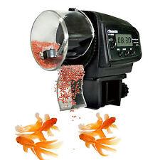 LCD Display Automatic Fish Feeder Aquarium Automatic Fish Food Tank Feeder Timer