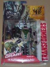 TRANSFORMERS AGE OF EXTINCTION - AUTOBOT HOUND QUICK DRAW ACTION FIGURE NEW