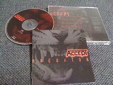 ACCEPT / predator /JAPAN LTD CD