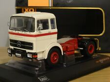 IXO MERCEDES BENZ LPS 1632 1970 BEIGE & RED TRUCK CAB MODEL TR039 1:43