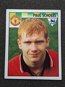Paul Scholes Rookie Merlin Premier League 95 1995 Sticker #302 Excellent