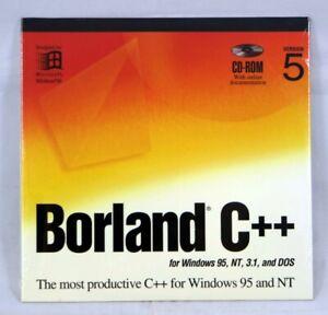 Borland C++ Builder Ver.5 Windows 95 / NT Database NEW BOR8854 BCP1350WW10180