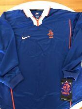 BNWT NEW 1998 1999 NIKE HOLLAND NETHERLANDS FOOTBALL SHIRT JERSEY PLAYER ISSUE