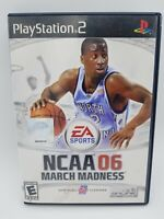 NCAA March Madness 06 (Sony PlayStation 2, 2005) PS2 Complete CIB Tested