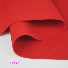 Red Thick Stretch Spandex Fabric knitted fabric Jersey Fabric Skirt jacket  BTY
