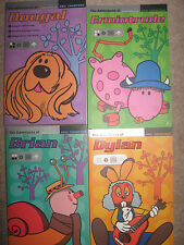 MAGIC ROUNDABOUT 4 BOOKS ADVENTURES DOUGAL BRIAN DYLAN ERMINTRUDE ERIC THOMPSON