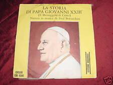 RARE ITALIAN 45 - LA STORIA DI PAPA GIOVANNI XXIII BORZACCHINI - CORSAIR