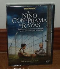 EL NIÑO CON EL PIJAMA DE RAYAS DVD NUEVO PRECINTADO DRAMA (SIN ABRIR) R2