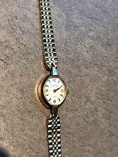 Vintage Women's Gruen Watch 17 Jewel 10k Gold R.G.P. Run Great