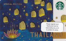 THAILAND Special Edition Starbucks card Unused