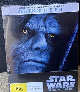 STAR WARS RETURN OF THE JEDI Blu-Ray Steelbook RARE - NEW and SEALED