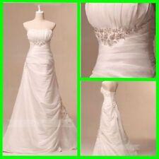 Lace Taffeta Sleeve Wedding Dresses