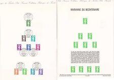 Document Philatélique Timbre 1er Jour : 22/01/ 1990 - Marianne du bicentenaire