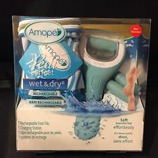 Amope Pedi Perfect Wet and Dry Foot File Club Pack (New in Box)