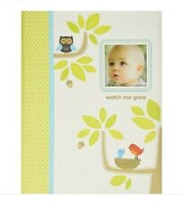 C.R Gibson First 5 Years Baby Memory Book Watch Me Grow 64 Pages Carter's