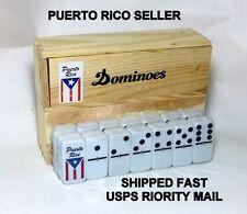 Puerto Rico Flag Domino Hobby Souvenir Table Game Sport Toy Isla Caribbean Sport