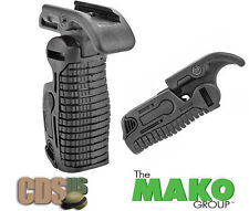 MAKO FAB Defense Tactical Weaver Picatinny Folding Grip Foregrip FGG-K BLACK