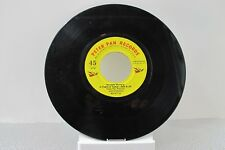 """45 RPM RECORD 7""""- HUMPTY DUMPTY AND OTHER NURSERY RHYMES - PETER PAN 1965 RARE"""