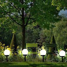 4Pcs Outdoor Lawn Road Spot Lamp Waterproof Led Solar Power Path Light