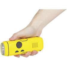 Wind Up Dynamo LED Camping Torch Radio Siren USB Mobile Phone Emergency Charger