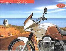 MOTO GUZZI QUOTA 1100 ES MOTORBIKE SALES BROCHURE 2000