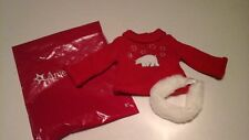 9AMERICAN Girl  Today RETIRED Polar Bear Sweater and headband 18 inch doll NEW