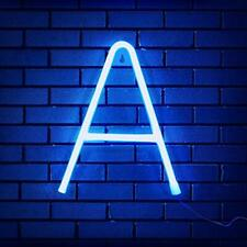 Light Up Led Neon Letters Sign Wall Decorative Neon Lights Alphabet Marquee L