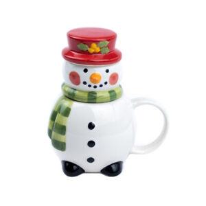 Ceramic Xmas Tea Infuser 'Snowman'