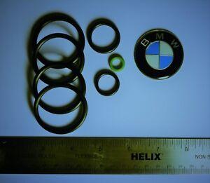 BMW Upper & Lower Radiator Hose Sensor O-Ring Seal Kit Cooling System Sensor Set