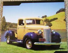 1940 Chevrolet Pickup truck print (yellow & black)