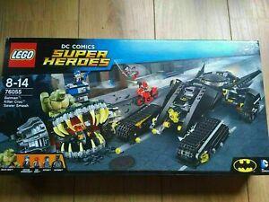BRAND NEW AND SEALED LEGO 76055 SUPER HEROES BATMAN KILLER CROC SEWER SMASH !!