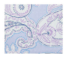 Sky Bedding Paisley 100% Cotton Twin Comforter Cover & Pillowsham Purple $200