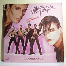 "33T VILLAGE PEOPLE Disque LP 12"" RENAISSANCE - DO YOU WANNA SPEND THE NIGHT RARE"