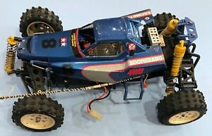 TAMIYA The Boomerang 1986 1/10 R/C High Performance 4WD Off Road Racer~FOR PARTS