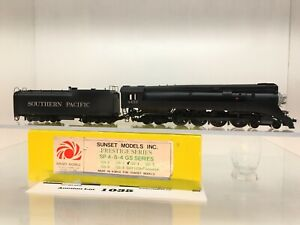 1035 Sunset Models Southern Pacific 4-8-4 Prestige GS Series HO Brass 2 Rail