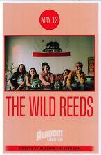 Wild Reeds 2019 Gig Poster Portland Oregon Concert