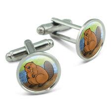 Beaver Men's Cufflinks Cuff Links Set
