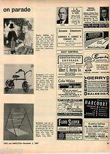 1967 ADVERT Dr. Doctor Doolittle Doll Mattel Toy Toys