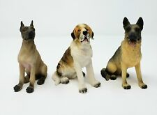 "3 Dog Figurine 4""  *Excellent Condition*"