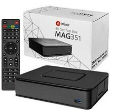 Mag 351/352 Set Top Caja Iptv Linux 4k Uhd Hevc - Incorporada Wifi y Bluetooth