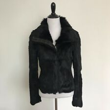 State & Lake REAL Rabbit Fur Jacket Size XS