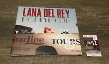 Lana Del Rey signed Honeymoon Album JSA Certificate COA