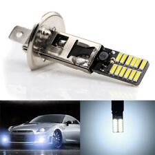 H1 6500K 24-SMD 4014 LED Car Replacement Bulb For Fog Light Driving DRL White
