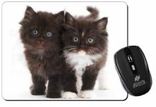 Black and White Kittens Computer Mouse Mat Christmas Gift Idea, AC-78M