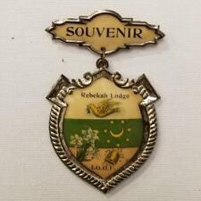 Rebekah Lodge IOOF Souvenir Pin 1905 Independent Order of Odd Fellows Pinback