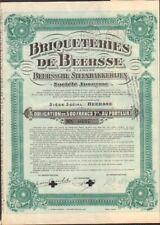 BRIQUETERIES de BEERSSE (BEERSSE BELGIQUE) (U)