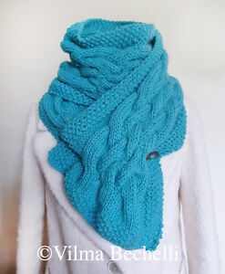 Cowl scarf knitting pattern. Very easy!