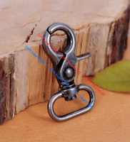 5 pcs Retro Lobster Claw Clasps Swivel Trigger Clips Snap Hook for webbing 20mm