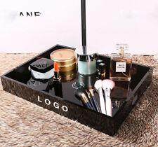 Black Medium Cosmetic Vanity Organizer Tray VIP Gift New in Box