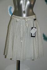 jupe plissée coton soie COSTUME NATIONAL T 40 fr 44i neuve étiquette VALEUR 245€